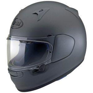 Arai Profile V Motorcycle Helmet in Gun Metallic Frost