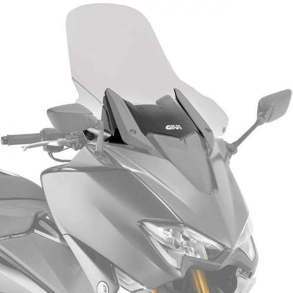 Givi D2133ST Motorcycle Screen Yamaha T Max 530 2017 on Clear
