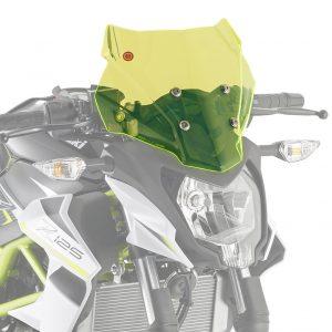 Givi 4125GR Motorcycle Screen Kawasaki Z125 2019 on Green