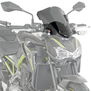 Givi A4118 Motorcycle Screen Kawasaki Z900 2017 on Smoke