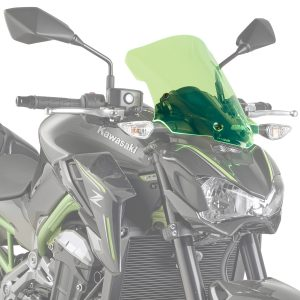 Givi A4118GR Motorcycle Screen Kawasaki Z900 2017 on Green