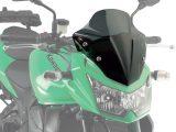 Givi A446 Motorcycle Screen Kawasaki Z750 2007 to 2014 Smoke
