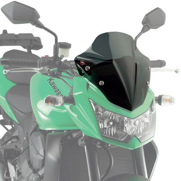 Givi A446 Motorcycle Screen Kawasaki Z750 2007 to 2014 Smoke
