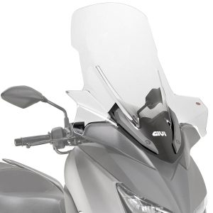 Givi D2136ST Motorcycle Screen Yamaha X Max 125 2018 on Clear
