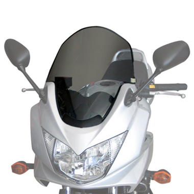 Givi D262S Motorcycle Screen Suzuki GSF1250 Bandit up to 2011 Smoke