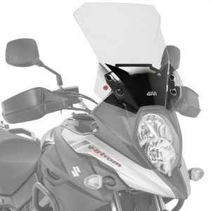 Givi D3112ST Motorcycle Screen Suzuki DL650 VStrom 2017 on Clear