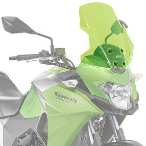 Givi D4121GR Motorcycle Screen Kawasaki Versys 300 2017 on Green