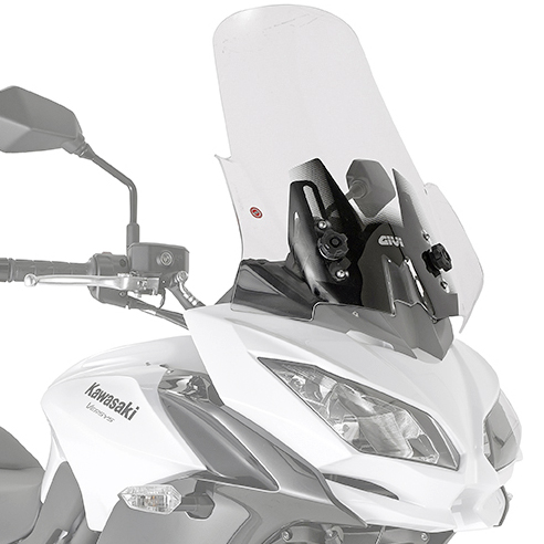 Givi D4122ST Motorcycle Screen Kawasaki Versys 650 2017 on Clear