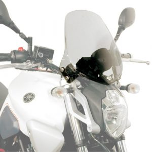 Givi 245A Motorcycle Screen Yamaha MT03 660 2006 on Smoke