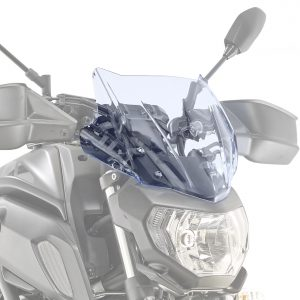 Givi A2140BL Motorcycle Screen Yamaha MT07 2018 on Ice