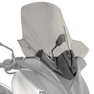 Givi D2138S Motorcycle Screen Yamaha X Max 125 2018 on Smoke