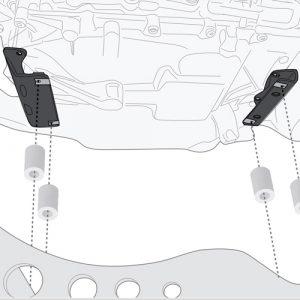 Givi RP5129KIT Oil Sump Guard fitting Kit