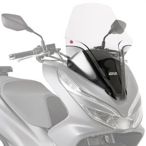 Givi 1129DT Clear Motorcycle Screen Honda PCX125 2018 on