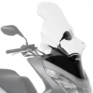 Givi D1130ST Clear Motorcycle Screen Honda PCX125 2014 to 2017