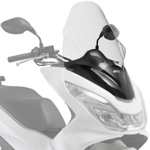 Givi D1136ST Clear Motorcycle Screen Honda PCX125 2014 to 2017