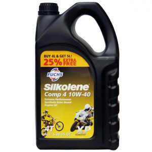 Silkolene Comp 4 10W 40 XP Motorcycle Engine Oil 5L
