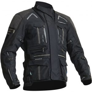 Lindstrands Oman Textile Motorcycle Jacket Black