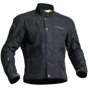 Lindstrands Zagreb Textile Waterproof Motorcycle Jacket Black