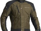 Lindstrands Zagreb Textile Waterproof Motorcycle Jacket Kiwi
