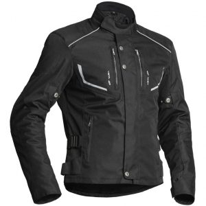 Lindstrands Halden Textile Motorcycle Jacket Black