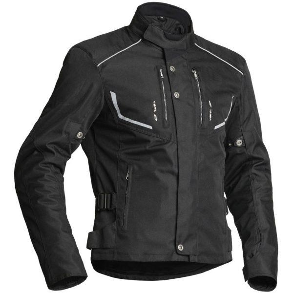 Lindstrands Halden Textile Motorcycle Jacket Black