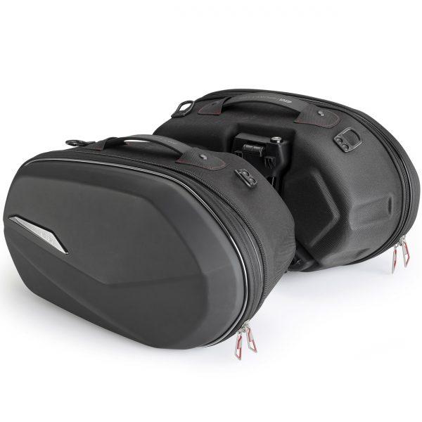 Givi ST609 Easylock Motorcycle Pannier Side Bags 25L Pair