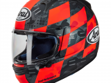 Arai Profile V Motorcycle Helmet Patch Red