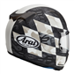 Arai Profile V Motorcycle Helmet Patch White