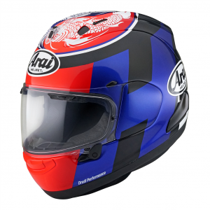 Arai RX7V Motorcycle Helmet Leon Haslam