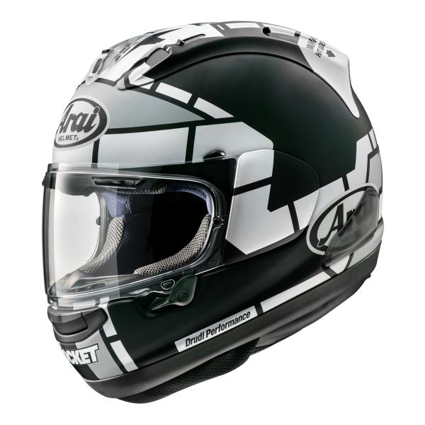 Arai RX7V Motorcycle Helmet Vinales 12 Race Replica