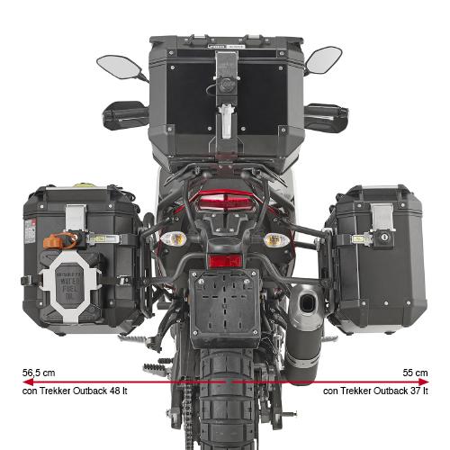 Givi PLO2145CAM Pannier Holders Yamaha Tenere 700 2019 on