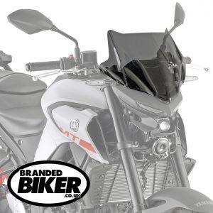 Givi 4128S Smoke Motorcycle Screen Yamaha MT03 321 2020 on