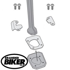 Givi ES5138 Sidestand Extension BMW S1000 XR 2020 on