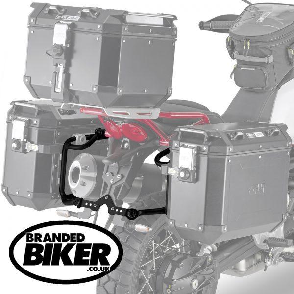 Givi PLOR8203CAM Pannier Holders Moto Guzzi V85TT 2019 on
