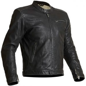 Halvarssons Idre Classic Leather Motorcycle Jacket