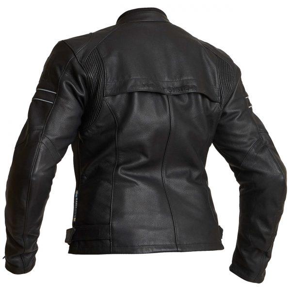 Halvarssons Risberg Ladies Waterproof Leather Motorcycle Jacket