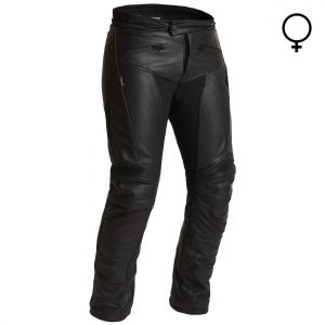 Halvarssons Oxberg Ladies Waterproof Leather Motorcycle Trousers