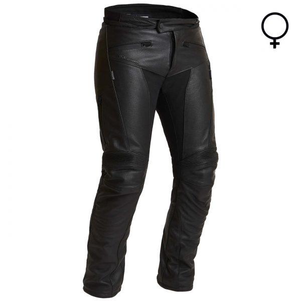 Halvarssons Oxberg Ladies Waterproof Leather Motorcycle Trousers