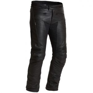 Halvarssons Rullbo Waterproof Leather Motorcycle Trousers Shorter Wider