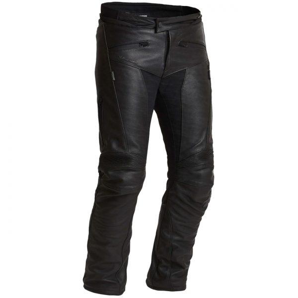 Halvarssons Rullbo Waterproof Leather Motorcycle Trousers Shorter Wider