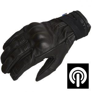Lindstrands Vindeln Short Leather Motorcycle Gloves
