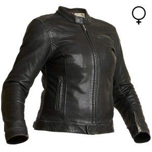 Halvarssons Orsa Ladies Classic Leather Motorcycle Jacket