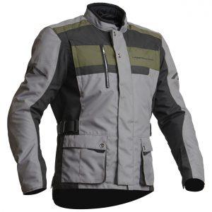 Lindstrands Hamar Waterproof Motorcycle Jacket Fog Black