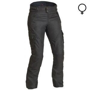 Lindstrands Husom Lady Laminate Motorcycle Trousers Black