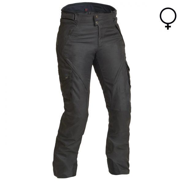 Lindstrands Husom Lady Laminate Motorcycle Trousers Short Leg