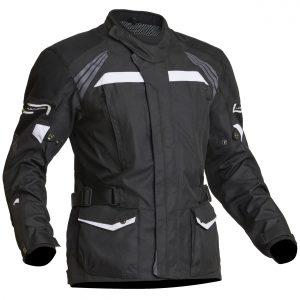 Lindstrands Transtrand Laminated Motorcycle Jacket Black White