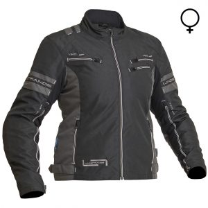 Lindstrands Liden Lady Waterproof Motorcycle Jacket Black