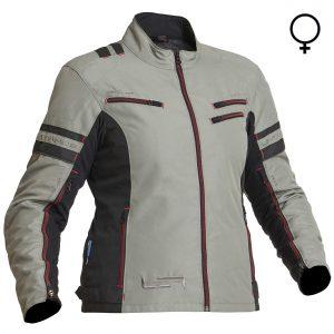 Lindstrands Liden Lady Waterproof Motorcycle Jacket Fog