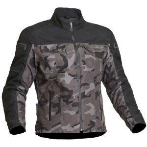Lindstrands Lugnet Waterproof Motorcycle Jacket Camo