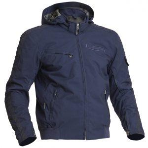 Lindstrands Uvan Textile Waterproof Motorcycle Jacket Blue